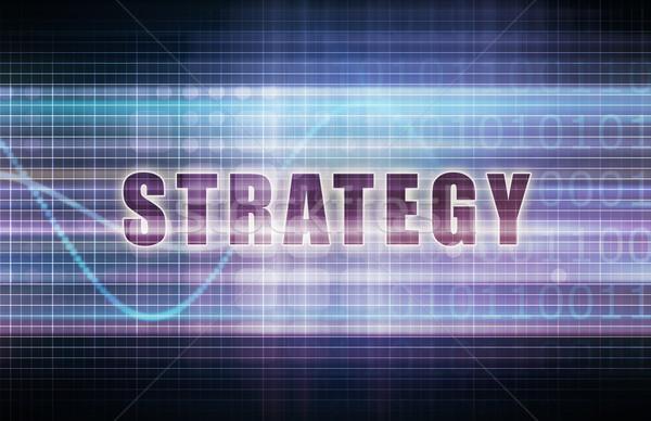 Strategy Stock photo © kentoh