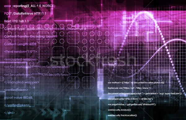 интернет быстро движущихся данные информации Сток-фото © kentoh