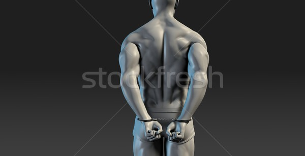 Detention or Correctional Facility Stock photo © kentoh