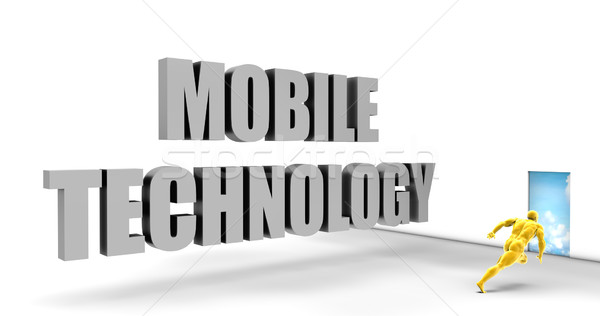 Mobile Technology Stock photo © kentoh