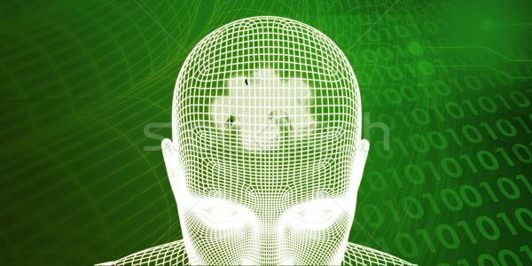 Brain Processor Stock photo © kentoh