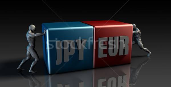 JPY EUR Currency Pair Stock photo © kentoh