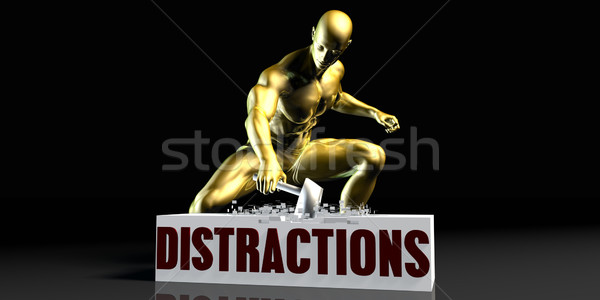 Distractions Stock photo © kentoh