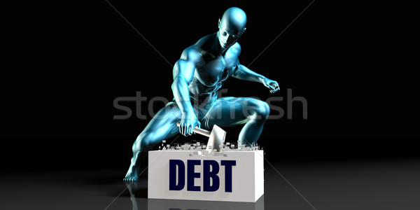 Get Rid of Debt Stock photo © kentoh