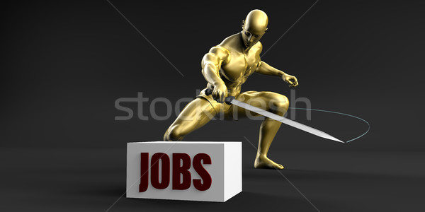 Reduce Jobs Stock photo © kentoh