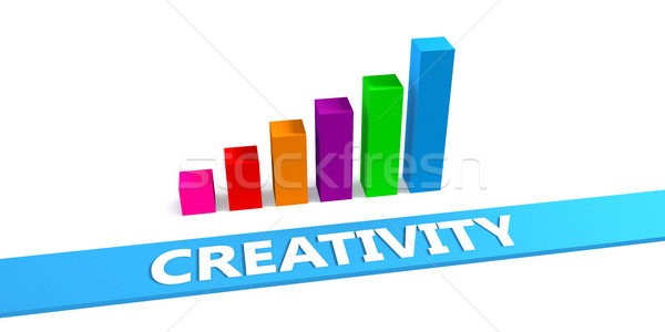 Great Creativity Stock photo © kentoh