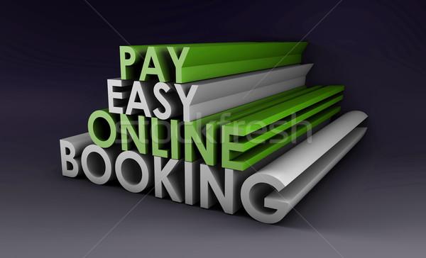 Online Booking Stock photo © kentoh