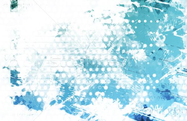 Technology Grunge Background Stock photo © kentoh