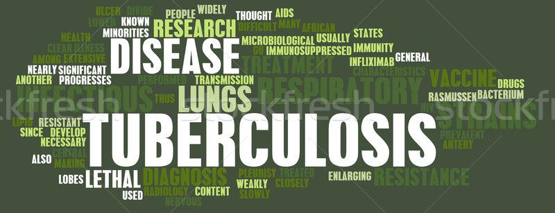 Tuberculosis Stock photo © kentoh