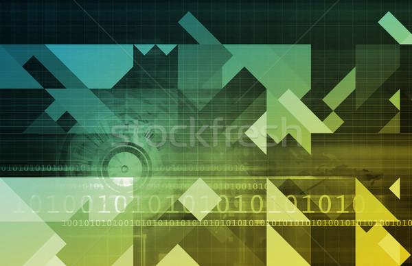 Działalności klienta online tle internetowych Zdjęcia stock © kentoh