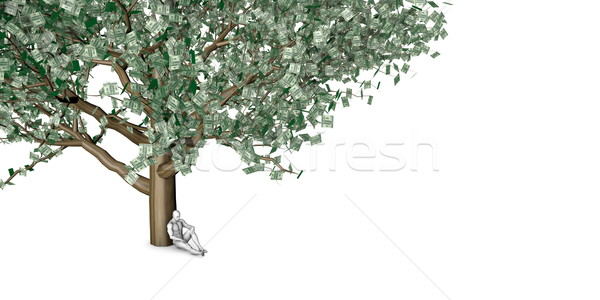 Verborgen gelegenheid man niet rijkdom Stockfoto © kentoh