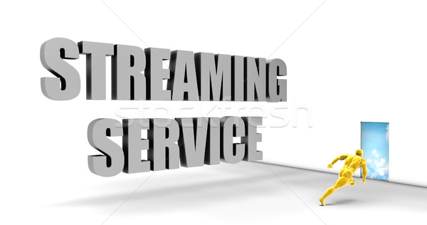 Streaming dienst snel track direct Stockfoto © kentoh