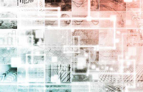 Kaynak kod teknoloji beyaz bilgisayar Sunucu Stok fotoğraf © kentoh