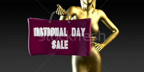 National Day Sale Stock photo © kentoh