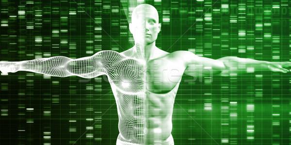 Futuristic Science Research Stock photo © kentoh