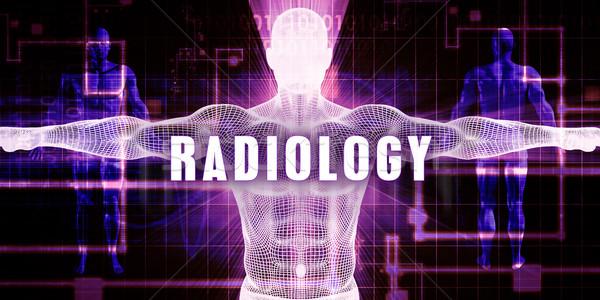 放射線学 デジタル技術 医療 芸術 男 技術 ストックフォト © kentoh
