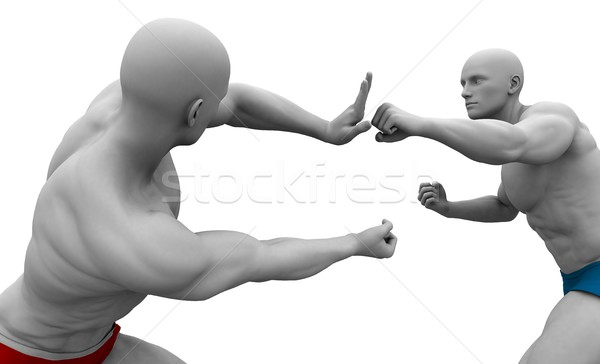 Self Defence or Self Defense Stock photo © kentoh