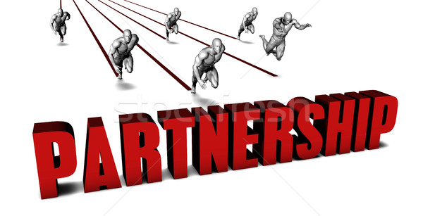 Better Partnership Stock photo © kentoh