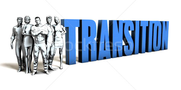Transition Business Concept Stock photo © kentoh