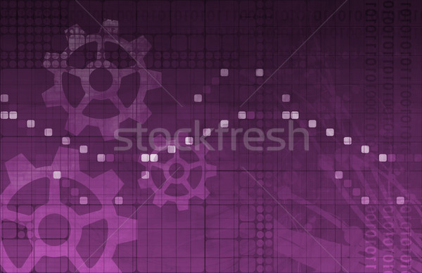 Stockfoto: Software · toepassing · gegevens · abstract · web · net