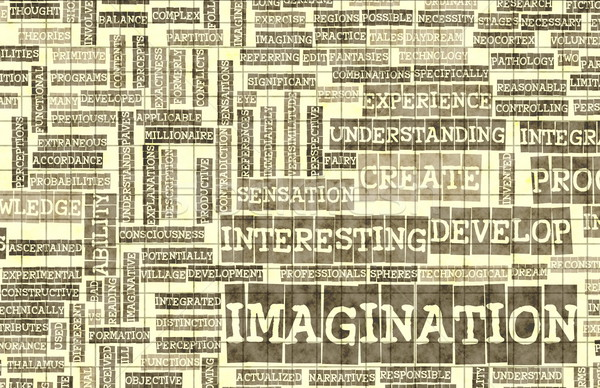 Imagination Stock photo © kentoh