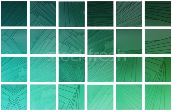 красочный счастливым аннотация свет технологий Сток-фото © kentoh