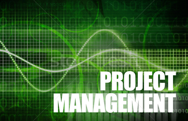 Project Management Stock photo © kentoh