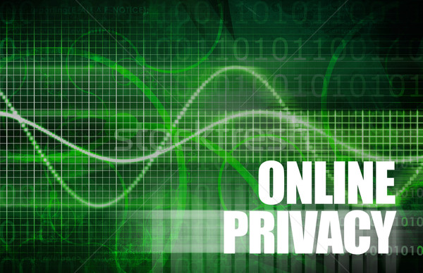 Online Privacy Stock photo © kentoh