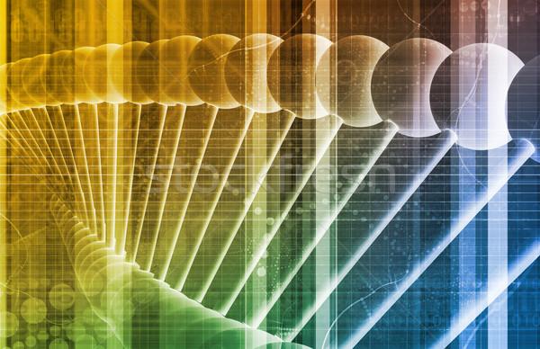 Ciencia investigación resumen salud fondo medicina Foto stock © kentoh