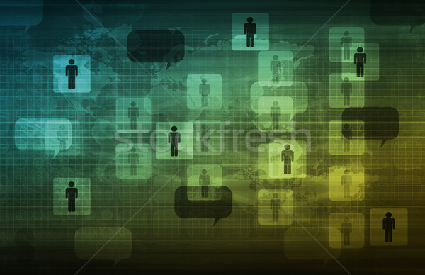 Strategic Management Stock photo © kentoh
