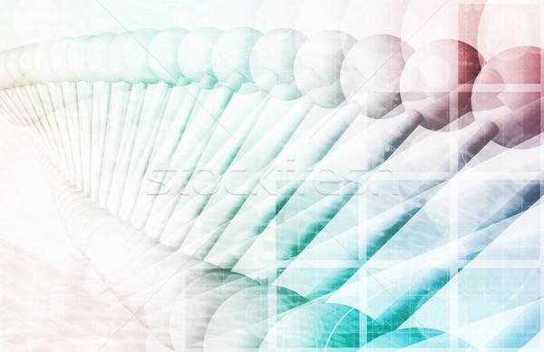 фармацевтический исследований данные науки искусства аннотация Сток-фото © kentoh