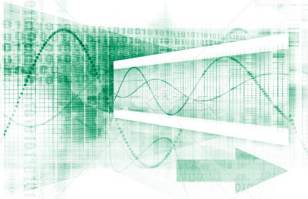 Сток-фото: дизайна · инженерных · науки · современных · аннотация · модель