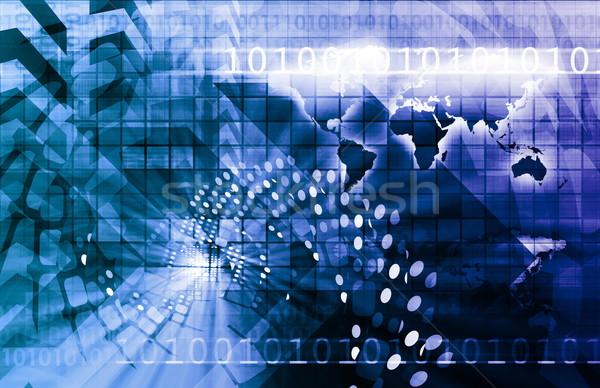 ストックフォト: 世界的な · 旅行 · 接続性 · 世界中 · ウェブ · 通信
