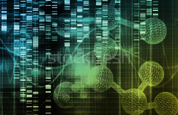 Genético ciencia investigación médicos resumen arte Foto stock © kentoh