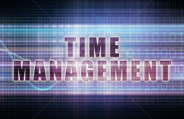 Time Management Stock photo © kentoh