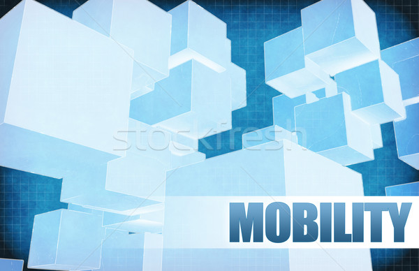 Mobility on Futuristic Abstract Stock photo © kentoh