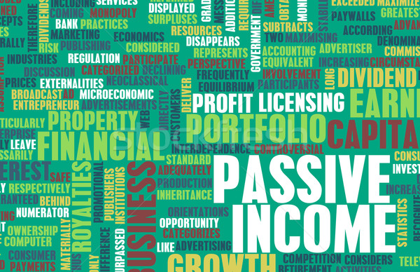 Passive Income Stock photo © kentoh