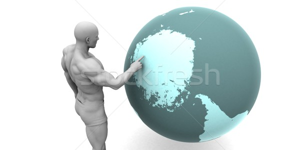 Business Expansion into Antarctica Stock photo © kentoh