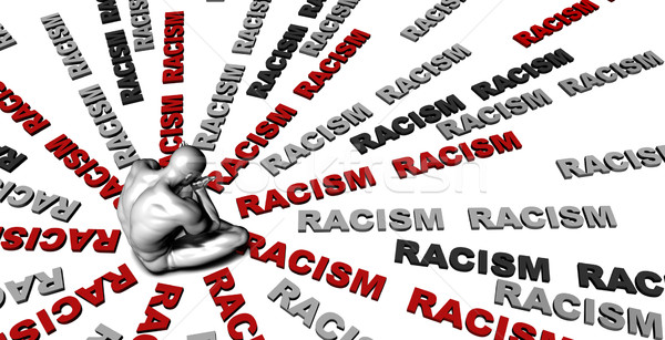 Racism Stock photo © kentoh