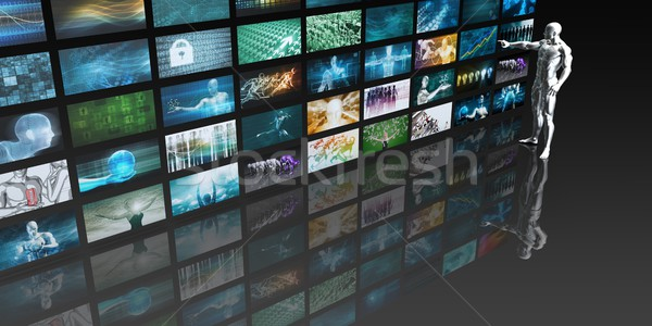 Media Monitoring Stock photo © kentoh