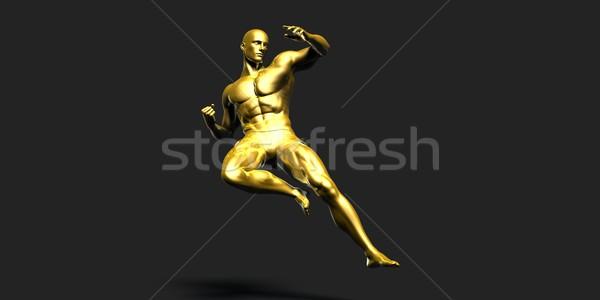 Sports Fitness Stock photo © kentoh