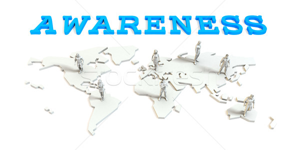 Awareness Global Business Stock photo © kentoh