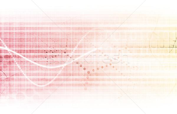 Stockfoto: Medische · engineering · abstract · schone · kunst · gezondheid