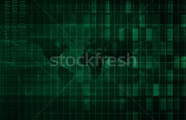 Informatika adat hálózat iroda háttér vállalati Stock fotó © kentoh