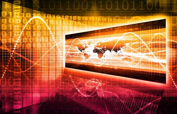 Internationale bedrijfsleven globale partners business corporate keten Stockfoto © kentoh