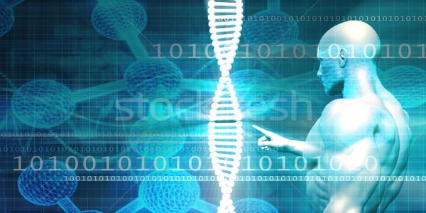 Genético pesquisa facilidade indústria médico investigador Foto stock © kentoh