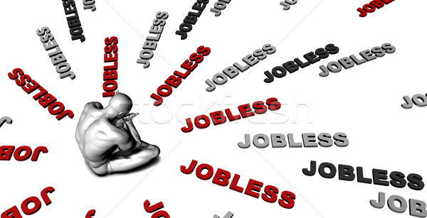 Jobless Stock photo © kentoh