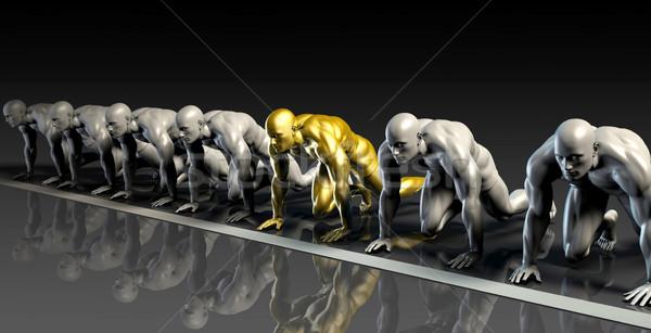 Orvostudomány kutatás fejlesztés háttér férfiak tudomány Stock fotó © kentoh