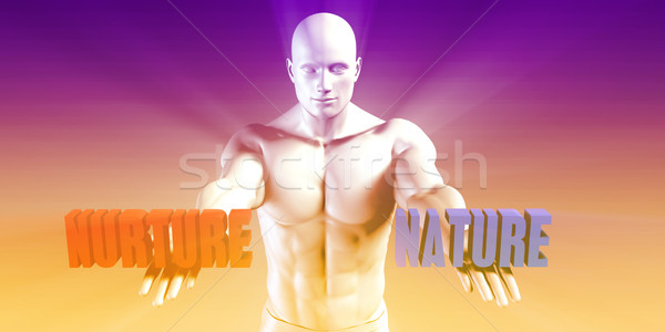 Nature or Nurture Stock photo © kentoh