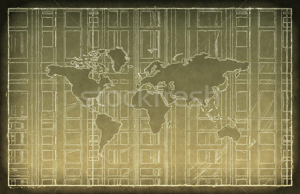 World Travel Concept Stock photo © kentoh